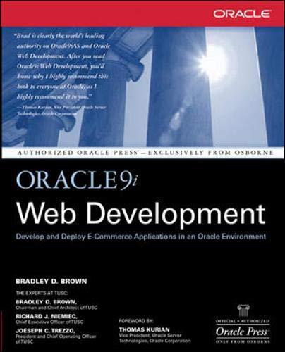 Oracle9i Web Development by Brad Brown