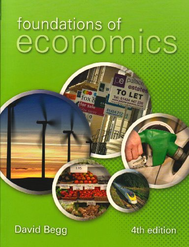 Foundations of Economics by David Begg