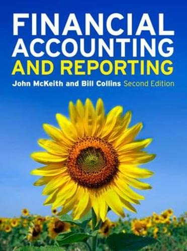 Financial Accounting and Reporting by John McKeith