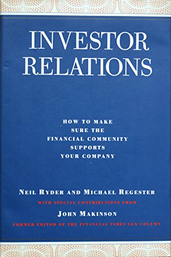 Investor Relations by Neil Ryder