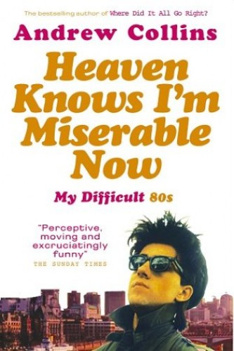 Heaven Knows I'm Miserable Now: My Difficult 80s by Andrew Collins