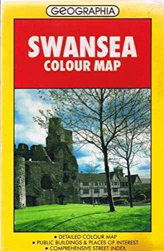 Swansea Street Plan: Colour by Geographia Ltd