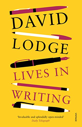 Lives in Writing by David Lodge