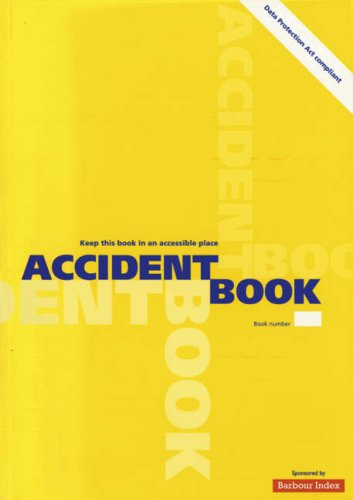Accident Book: 2003 by Stationery Office