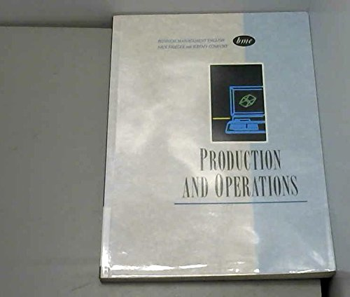 Business Management English: Production and Operations by Nick Brieger