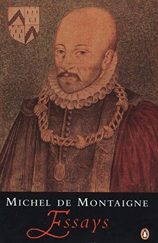 Essays by Michel Eyquem de Montaigne