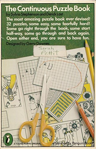 The Continuous Puzzle Book by Sylvia Stephenson