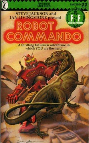 Robot Commando by Steve Jackson