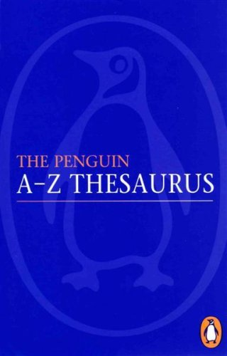 The Penguin a-Z Thesaurus by Rosalind Fergusson