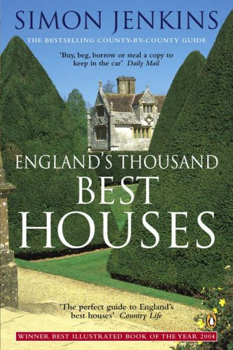 England's Thousand Best Houses by Simon Jenkins
