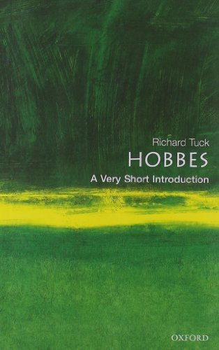 Hobbes: A Very Short Introduction by Richard Tuck