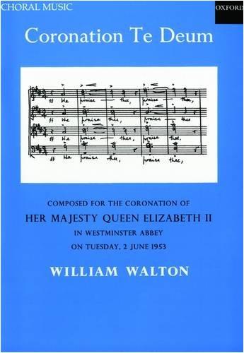 Coronation Te Deum: SSAATTBB Vocal Score by William Walton