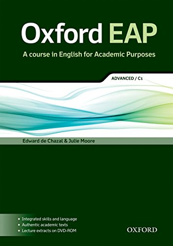 Oxford EAP: advanced/C1: Student's Book and DVD-ROM Pack by