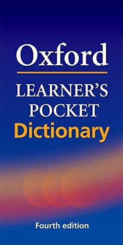 Oxford Learner's Pocket Dictionary: A Pocket-sized Reference to English Vocabulary by