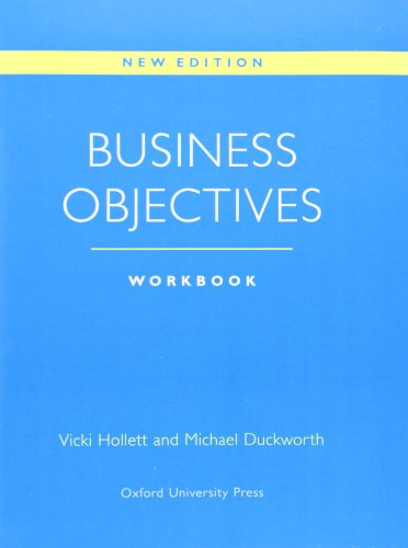 Business Objectives New Edition: Workbook by Vicki Hollett