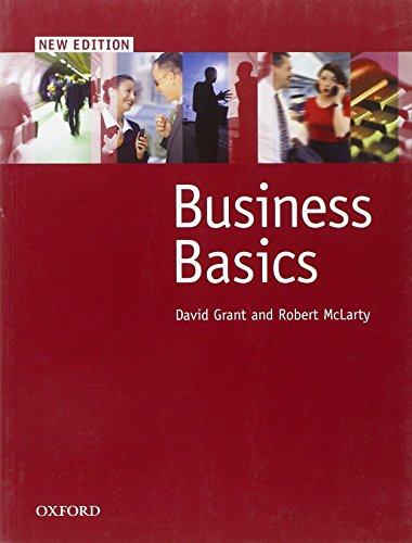 Business Basics: Student's Book by David Grant