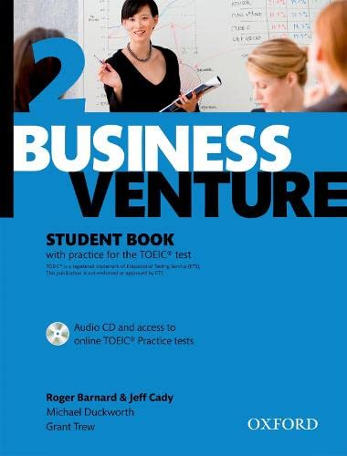 Business Venture 2 Pre-Intermediate: Cady, Jeff: Student's Book Pack by Roger B. Barnard