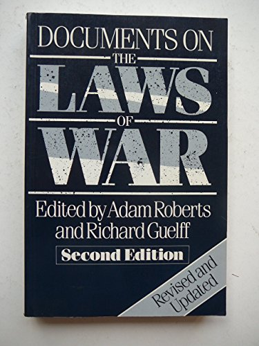 Documents on the Laws of War by Adam Roberts