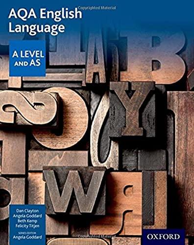AQA A Level English Language and Literature Student Book : Ruth L ...