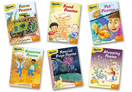 Oxford Reading Tree: Stages 5-6: Glow-worms: Pack (6 Books, 1of Each Title) by John Foster