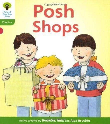 Oxford Reading Tree: Level 2: Floppy's Phonics Fiction: Posh Shops by Roderick Hunt