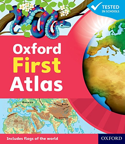 Oxford First Atlas Hardback 2011 by Patrick Wiegand