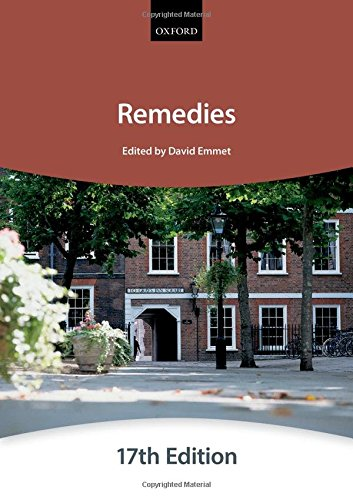 Remedies by The City Law School