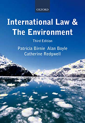 International Law and the Environment by Patricia Birnie