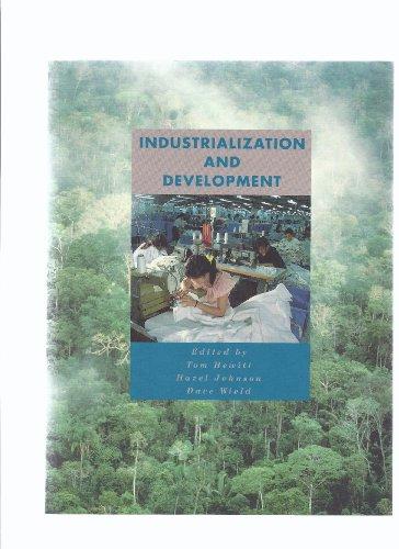 Industrialization and Development by Tom Hewitt