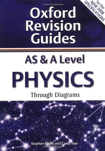 AS and A Level Physics Through Diagrams: Oxford Revision Guides by Stephen Pople