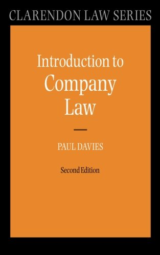 Introduction to Company Law by Paul Davies