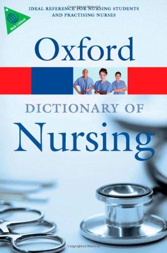 A Dictionary of Nursing by Elizabeth Martin