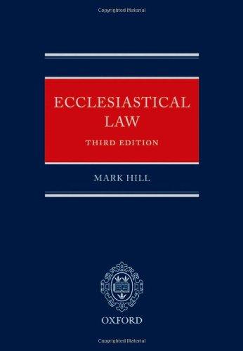 Ecclesiastical Law by Mark Hill, QC