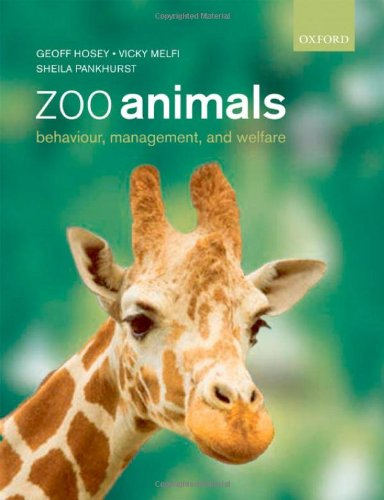 Zoo Animals: Behaviour, Management and Welfare by Geoff Hosey