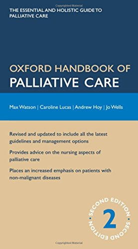 Oxford Handbook of Palliative Care by Max Watson