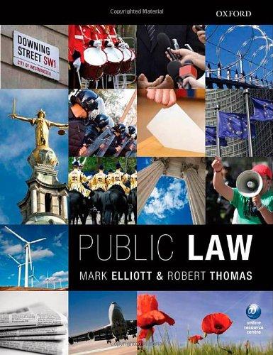 Public Law by Mark Elliott