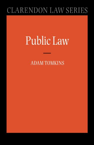 Public Law by Adam Tomkins