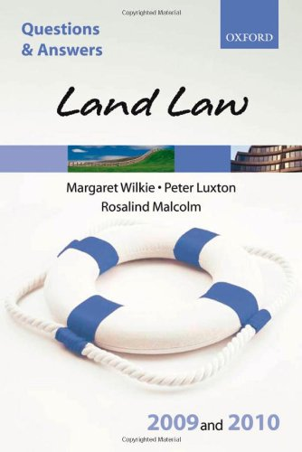 Land Law: 2009-2010 by Margaret Wilkie