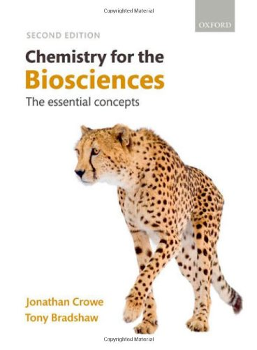 Chemistry for the Biosciences: The Essential Concepts by Jonathan Crowe