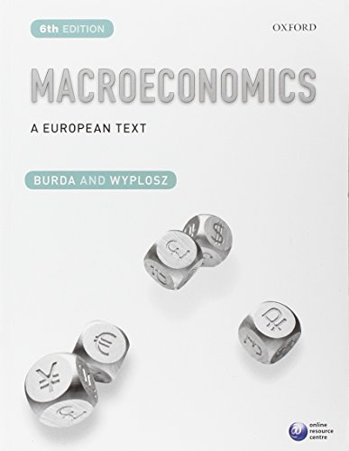 Macroeconomics: A European Text by Michael Burda
