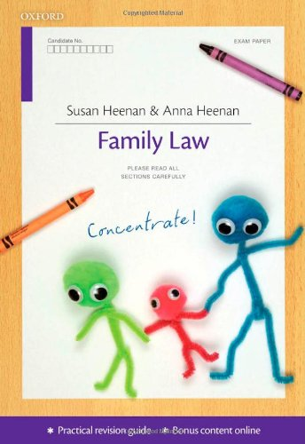Family Law Concentrate: Law Revision and Study Guide by Susan Heenan