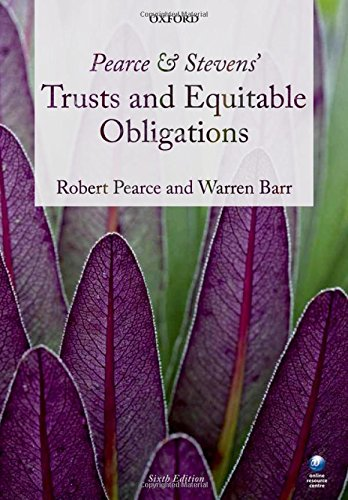 Pearce & Stevens' Trusts and Equitable Obligations by Robert Pearce