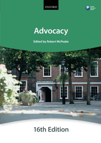Advocacy by The City Law School