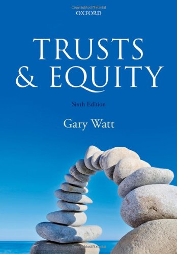 Trusts and Equity by Gary Watt
