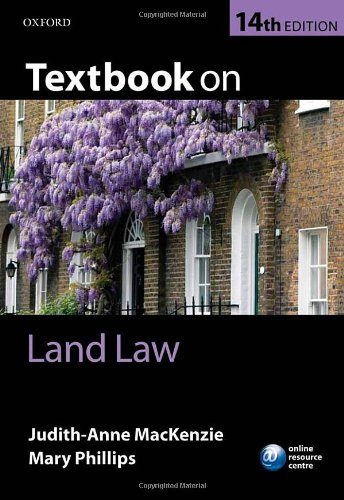 Textbook on Land Law by Judith-Anne MacKenzie