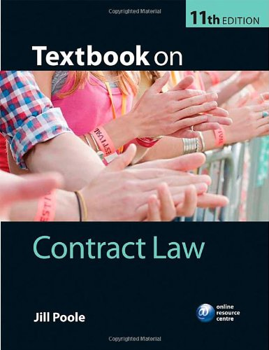 Textbook on Contract Law by Jill Poole (Professor of Commercial Law, University of the West of England)