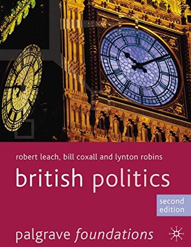 British Politics by Robert Leach