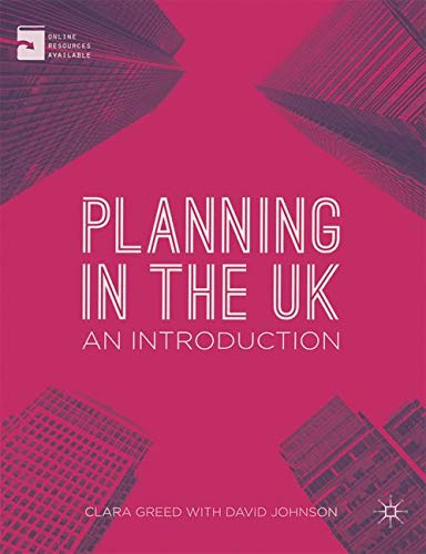 Planning in the UK: An Introduction by Clara H. Greed
