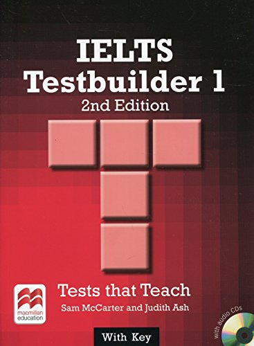 IELTS 1 Testbuilder Student's Book with Key Pack by Sam McCarter
