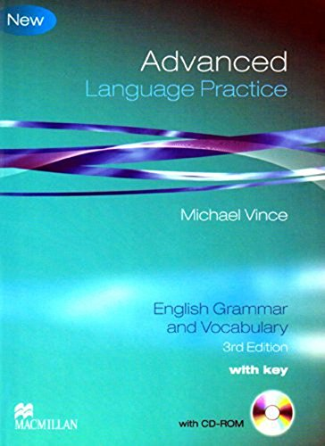 Advanced Language Practice: Student Book Pack with Key by Vince Michael